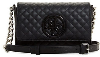 Guess G-Lux Quilted Mini Crossbody Bag $68 thestylecure.com