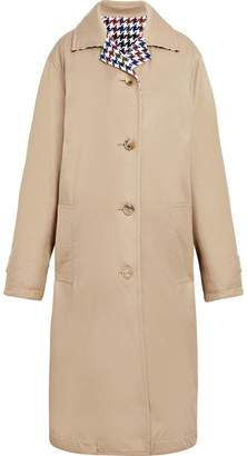 MACKINTOSH Beige Cotton & Wool Reversible Coat LM-082