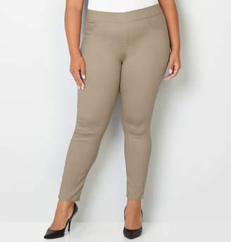 Avenue Butter Denim Pull-On Skinny Jean in Cafe