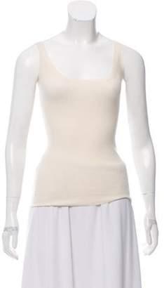 Burberry Cashmere Sleeveless Top Cashmere Sleeveless Top