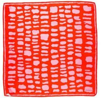 Givenchy Printed Silk Scarf