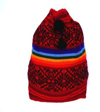 """Luxurious Gypsie Multicolored Handwoven Backpack """"Petra"""""""