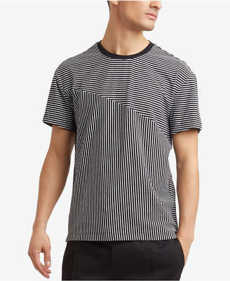 Kenneth Cole Reaction Men's Blocked Stripe T-Shirt
