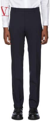 Valentino Navy Zip Pocket Trousers