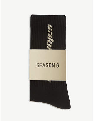 Yeezy Season 6 Calabasas cotton socks pack of three