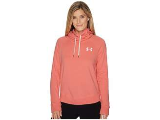 Under Armour Favorite Fleece Pullover Left Chest Hoodie Women's Sweatshirt