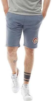 Tokyo Laundry Mens Hayden Creek Sweat Shorts Dusty Blue