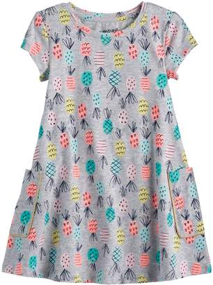 Baby Girl Jumping Beans Print Swing Dress