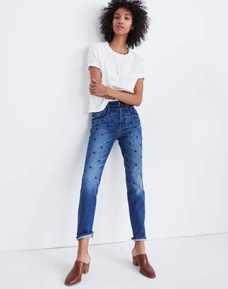 Madewell The High-Rise Slim Boyjean: Beaded Edition