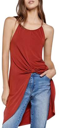 BCBGeneration Knot-Front Tunic