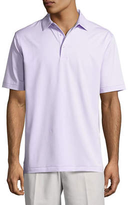 Peter Millar Jubilee Micro-Striped Stretch Polo Shirt