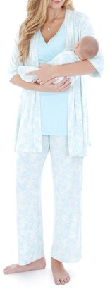 Women's Everly Grey Roxanne - During & After 5-Piece Maternity Sleepwear Set $98 thestylecure.com