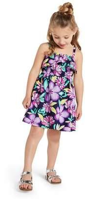 Gymboree Floral Ruffle Dress