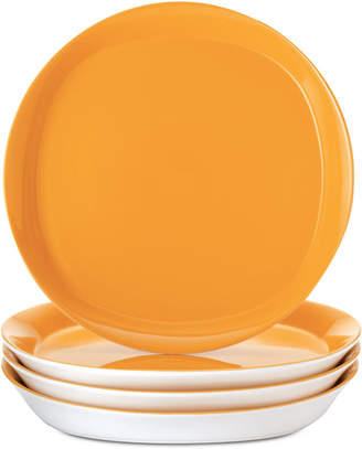 Rachael Ray Round & Square Dinner Plates, Set of 4