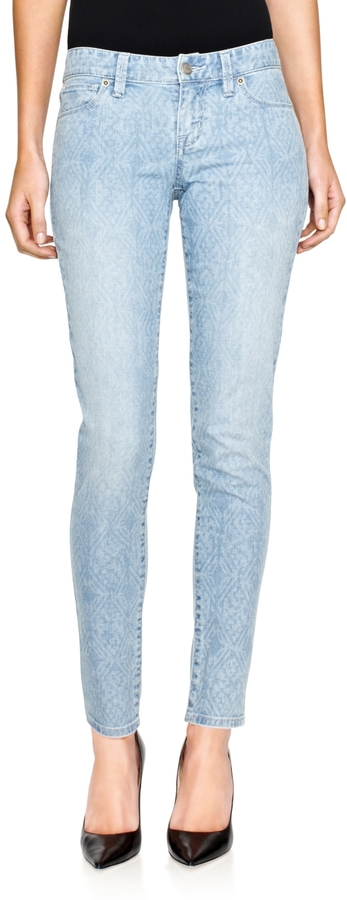 The Limited 917 Indigo Print Skinny Jeans