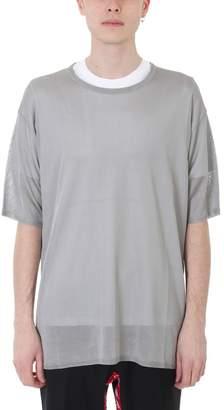 Florian Danilo Paura Grey Wool T-shirt