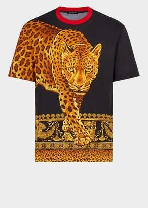 Versace Signature Wild Print T-Shirt
