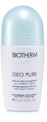 Biotherm NEW Deo Pure Antiperspirant Roll-On 75ml Womens Skin Care