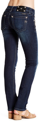 MISS ME Embellished Straight Leg Jean $110 thestylecure.com