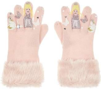 Monsoon Girls Magical Swan Novelty Gloves