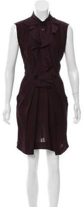 Celine Pleated Mini Dress