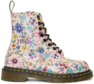 Dr. Martens White Pascale Wanderlust Boots