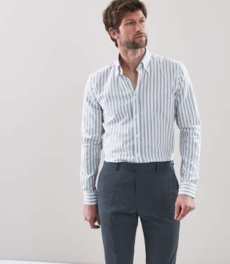 Reiss Granger Linen Button Down Shirt