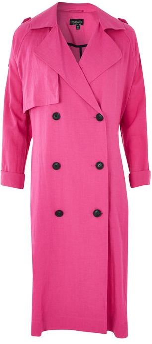 Topshop Topshop Washed trench coat