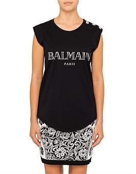 Balmain Sleeve Less Tank