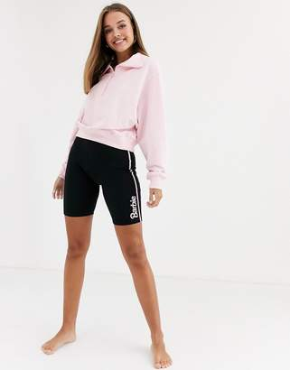 Asos Design DESIGN Barbie lounge jersey legging short