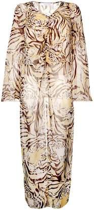 See by Chloe tiger print tunic