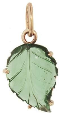 Irene Neuwirth One-Of-A-Kind Carved Green Tourmaline Leaf