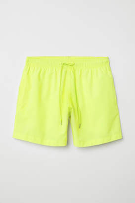H&M Swim Shorts - Yellow