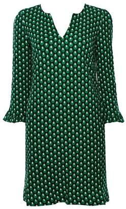 Wallis **Jolie Moi Green Pattern Tunic Dress