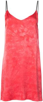 Amiri tie dye slip dress