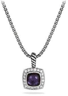 David Yurman Petite Albion Pendant Necklace with Diamonds