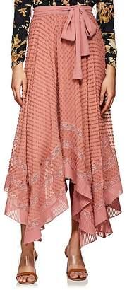 Zimmermann Women's Swiss Dot Silk Skirt