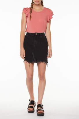 Dex Side Zipper Skirt