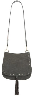 Steve Madden 'B Swiss' Faux Leather Saddle Bag $88 thestylecure.com