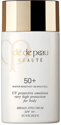 Clé de Peau Beauté UV Protective Emulsion Very High Protection For Body Broad Spectrum SPF 50+, 2.5 oz.