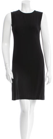 prada Prada Sleeveless Sheath Dress