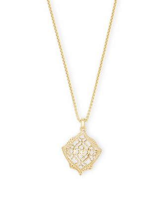 Kendra Scott Kacey Long Pendant Necklace in Filigree