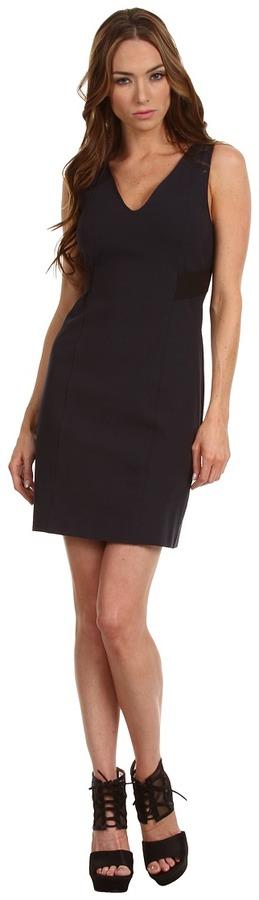 Theory Quandra Dress (Dark Navy) - Apparel