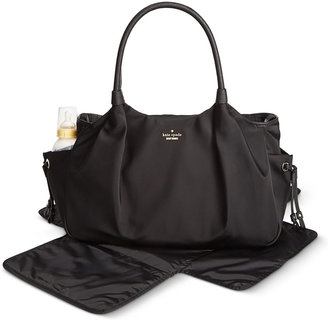 kate spade new york Classic Nylon Stevie Baby Bag $398 thestylecure.com
