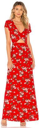 About Us Zahara Floral Maxi Dress
