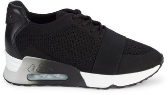 Ash Lacey Platform Sneakers