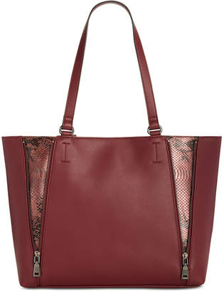 INC International Concepts I.n.c. Averry Side Zip Tote