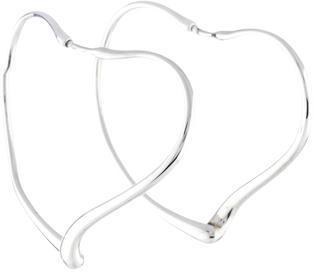Tiffany & Co. Peretti Heart Hoop Earrings $195 thestylecure.com