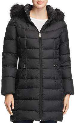 Calvin Klein Detachable Hood Puffer Coat