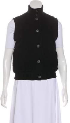 Ralph Lauren Black Label Quilted Wool-Blend Vest
